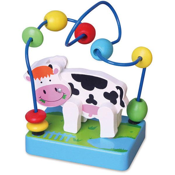 Image of Viga Toys Mini Kralenframe Koe