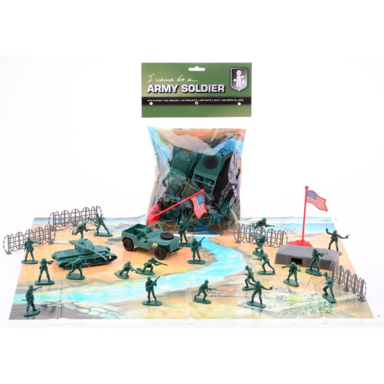 Image of ARMY FORCES SPEELSET MET SPEEL