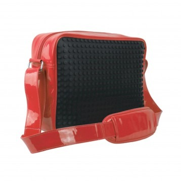 Messenger 02 - 160 large pixels - black/red