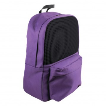 Backpack 13 - 240 small pixels - purple/black