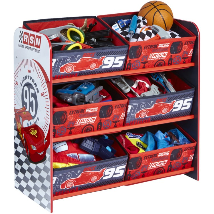 Image of Disney Cars Opbergrek met laden