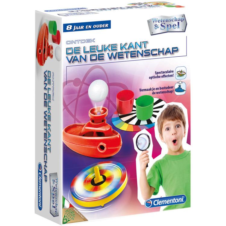 Image of Clementoni Wetenschappelijke Speelset De Leuke Kant 8+