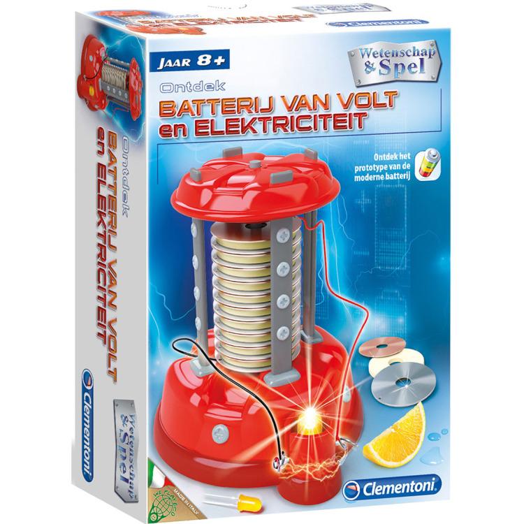 Image of Clementoni Wetenschappelijke Elektriciteit Speelkit 8+