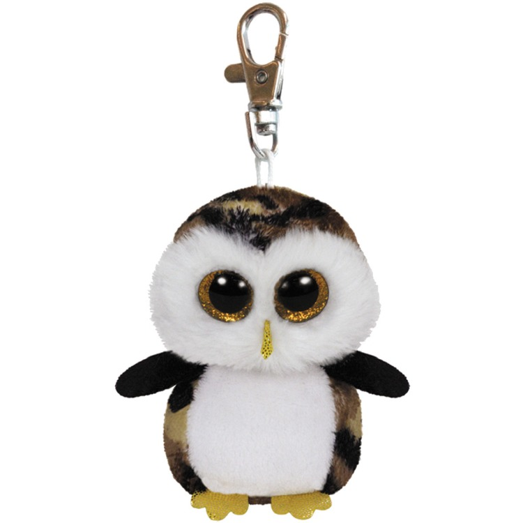 Ty Beanie Boo sleutelhanger Owlivier de uil