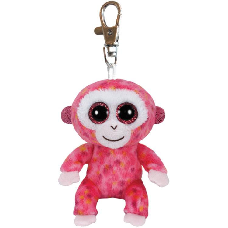 Ty Beanie Boo sleutelhanger Ruby de aap