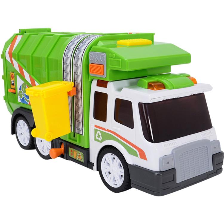 DICKIE TOYS Vuilniswagen met vrijloop