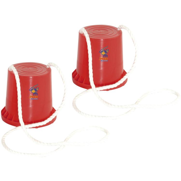 Image of HUDORA 76073 Blauw, Rood speelgoed voor motoriek