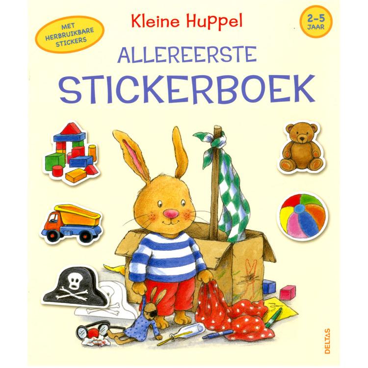 Image of Kleine Huppel Allereerste Stickerboek