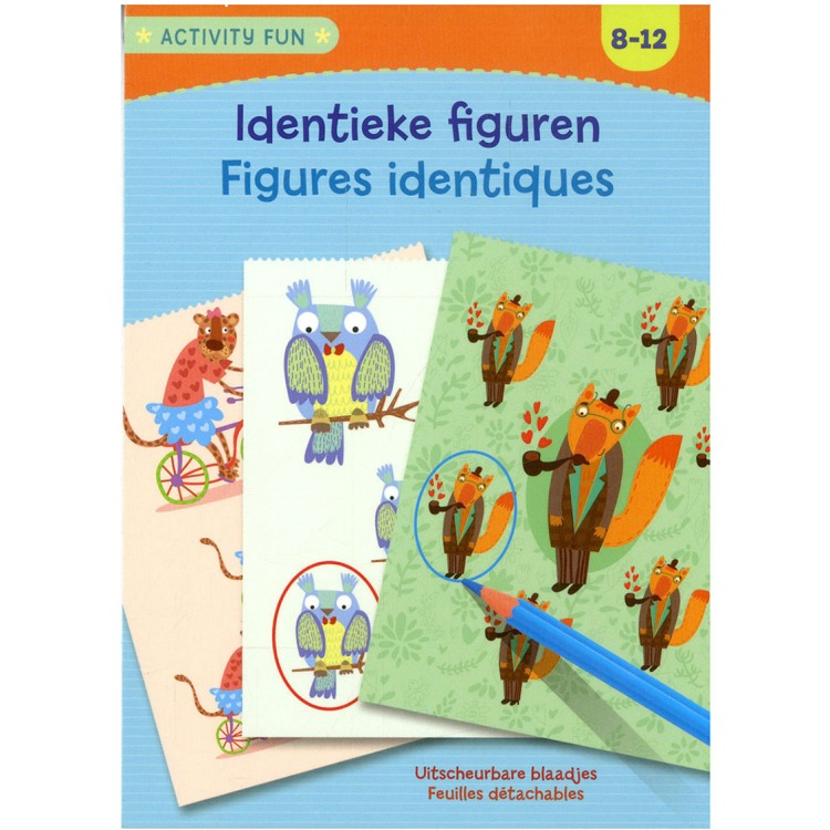 Image of Activity Fun - Identieke Figuren