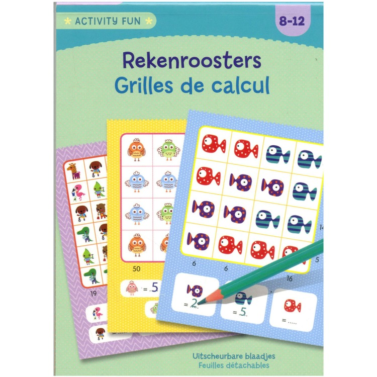Image of Activity Fun - Rekenroosters