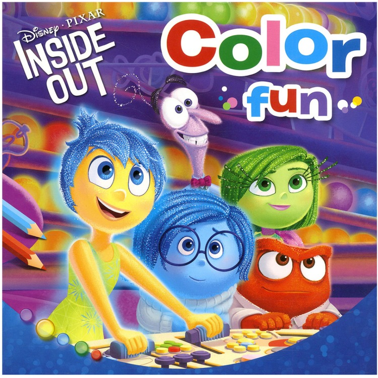Image of Disney Pixar Binnenstebuiten Color Fun
