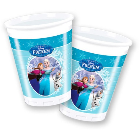 Image of Disney Frozen Bekers, 8st.