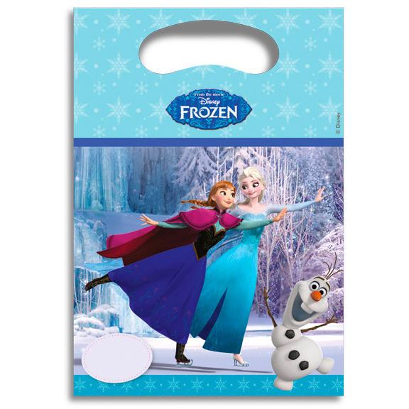 Image of Disney Frozen Feestzakjes, 6 Stuks