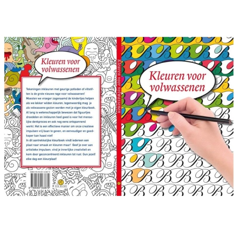 Image of Kleuren Voor Volwassenen