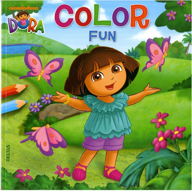 Image of Dora Color Fun Kleurboek