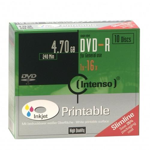 Image of DVD-R 16x SC 4,7GB Pr. 10St