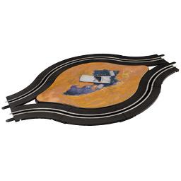 Carrera GO!!! enkelbaans rotonde met deco 61648