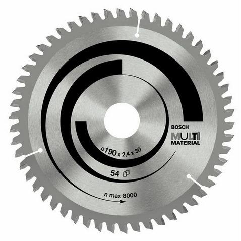 Bosch Cirkelzaagblad multi material160x20-16 42t (per stuk)