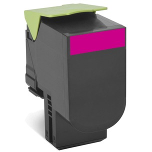LEXMARK 702XME tonercartridge magenta high capacity corporate