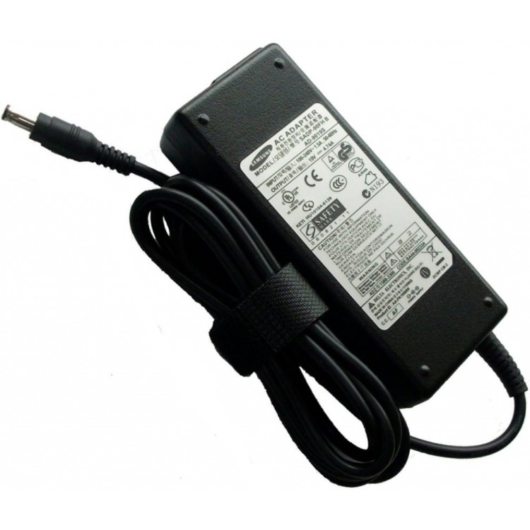 Samsung AC Power adapter 90W, 19V, 4.74A, Black (BA44-00215A)