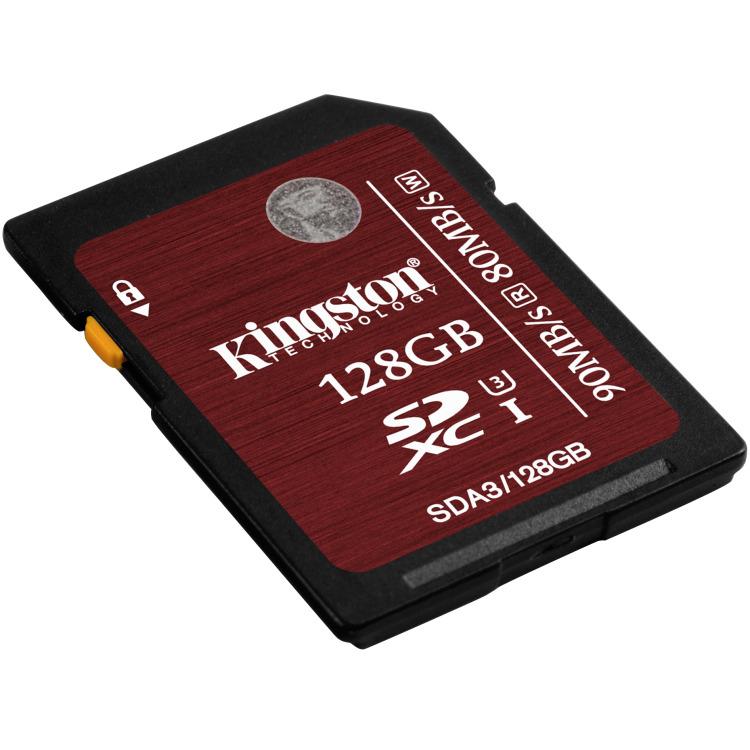 Kingston SDXC UHS-I U3 128GB - Class 3