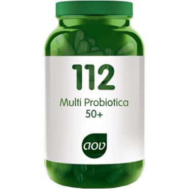 Image of 112 Multi Probiotica 50+, 60 Vegacaps