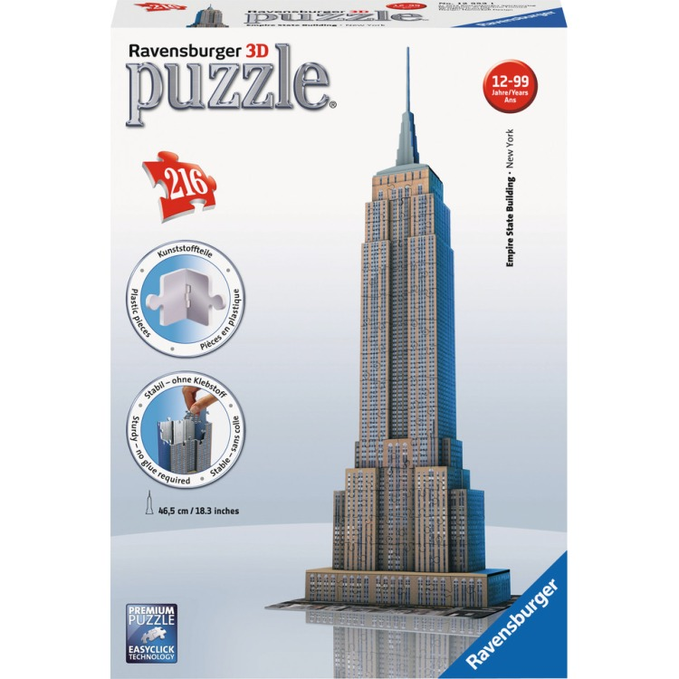Image of 3D Puzzel - Empire State Building - 216 stukjes