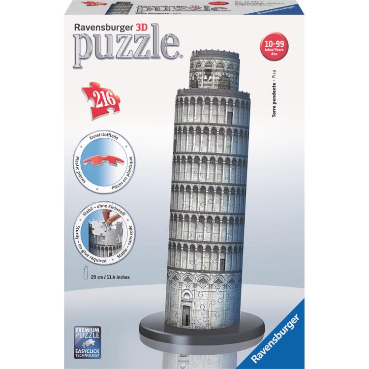 Image of 3D Puzzel - Toren van Pisa - 216 stukjes
