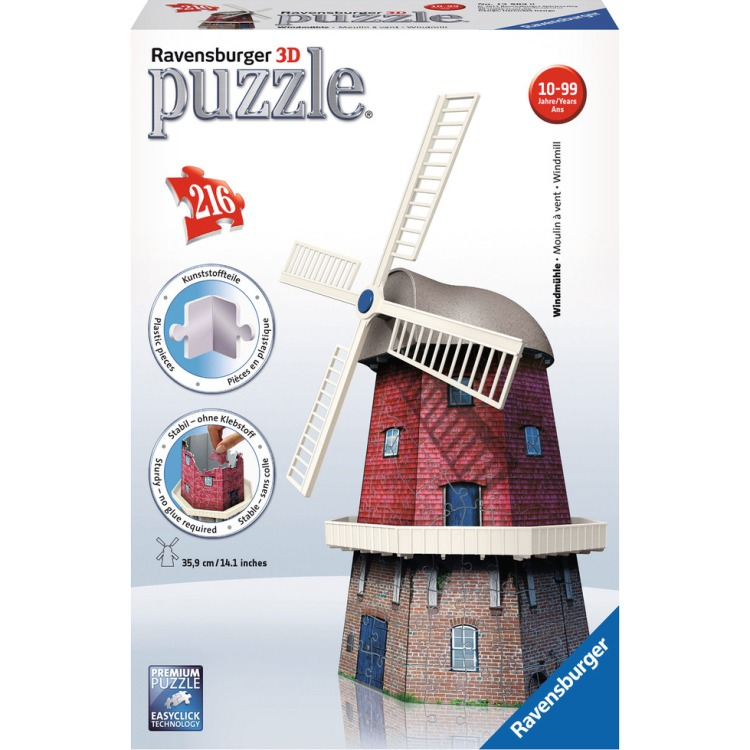 Ravensburger 3D puzzel Windmolen -