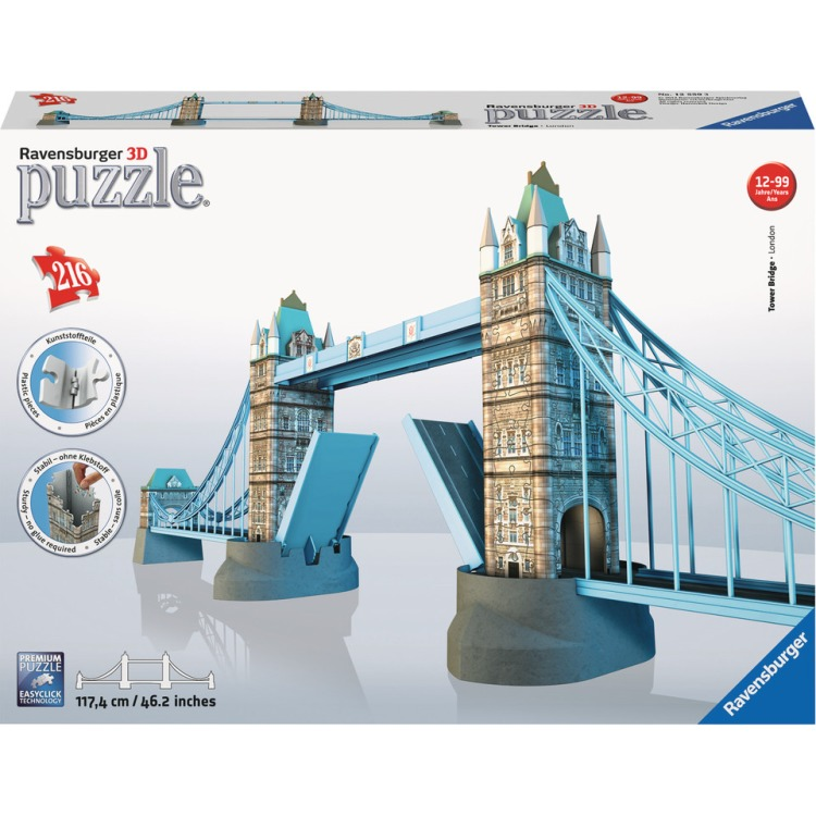 Ravensburger 3D puzzel Tower Bridge -