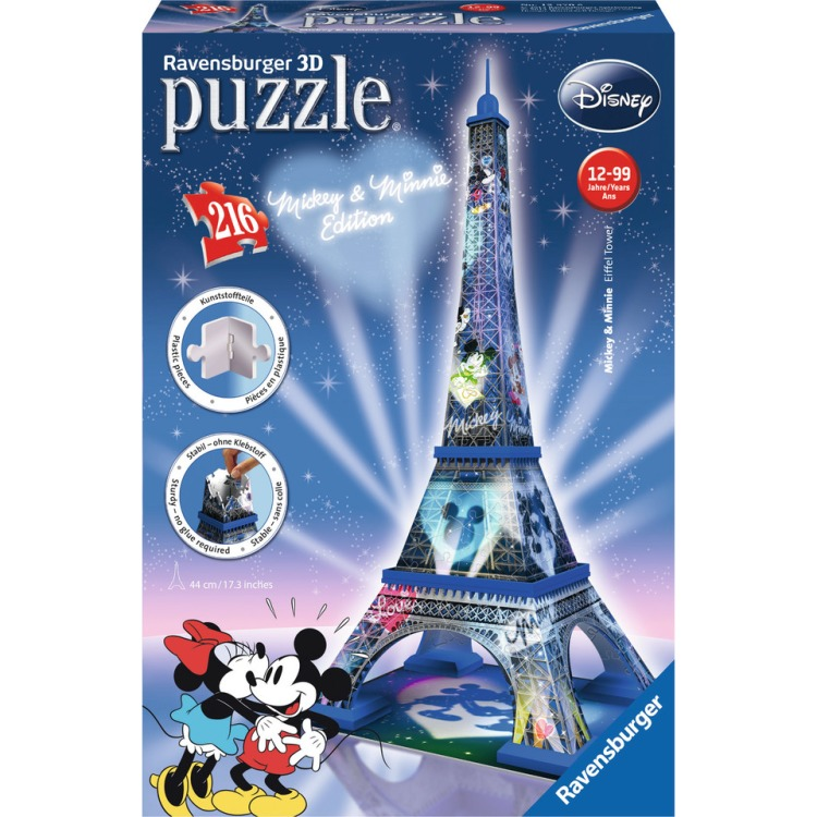 Ravensburger Mickey Mouse Eiffeltoren 3D puzzel (216 stukjes)
