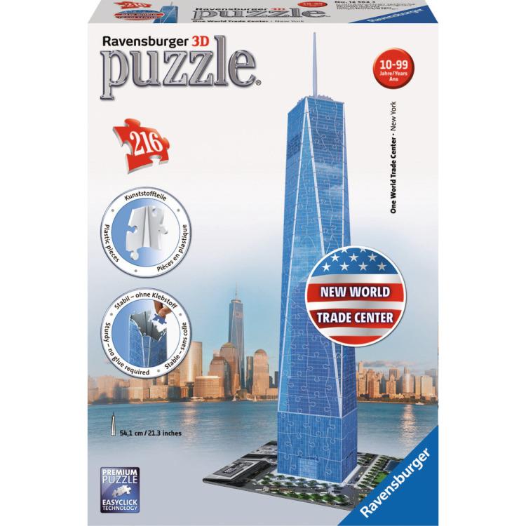 Ravensburger One World Trade Center 3D puzzel (216 stukjes)