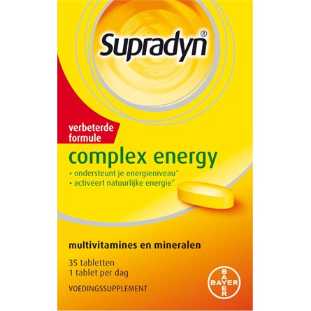 Image of Supradyn Complex Energy, 35 Tabletten
