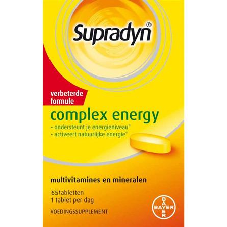 Image of Supradyn Complex Energy, 65 Tabletten