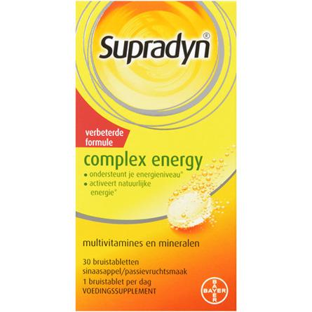 Image of Supradyn Complex Energy, 30 Bruistabletten