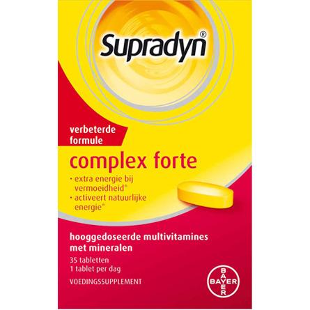 Image of Supradyn Complex Forte, 35 Tabletten