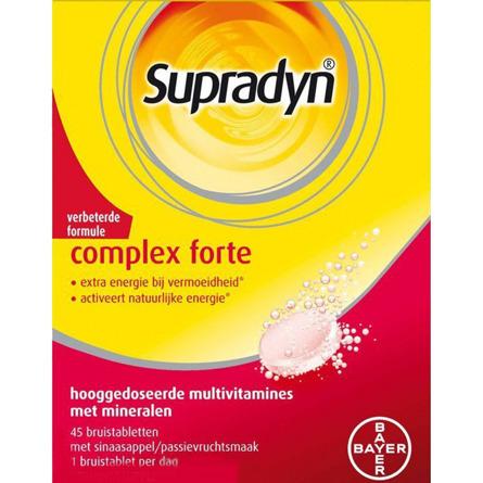 Image of Supradyn Complex Forte, 45 Bruistabletten