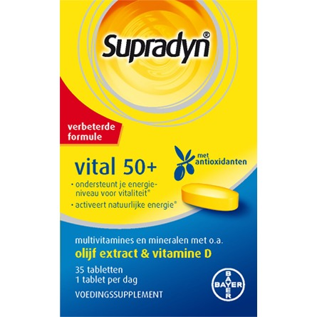 Image of Supradyn Vital 50+, 35 Tabletten