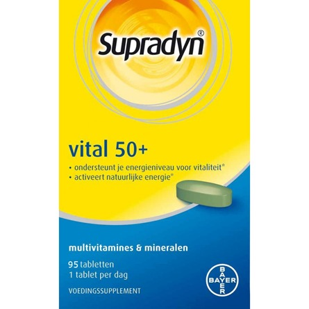 Image of Supradyn Vital 50+, 95 Tabletten