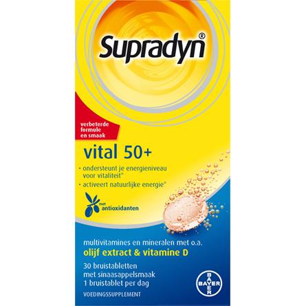 Image of Supradyn Vital 50+, 30 Bruistabletten