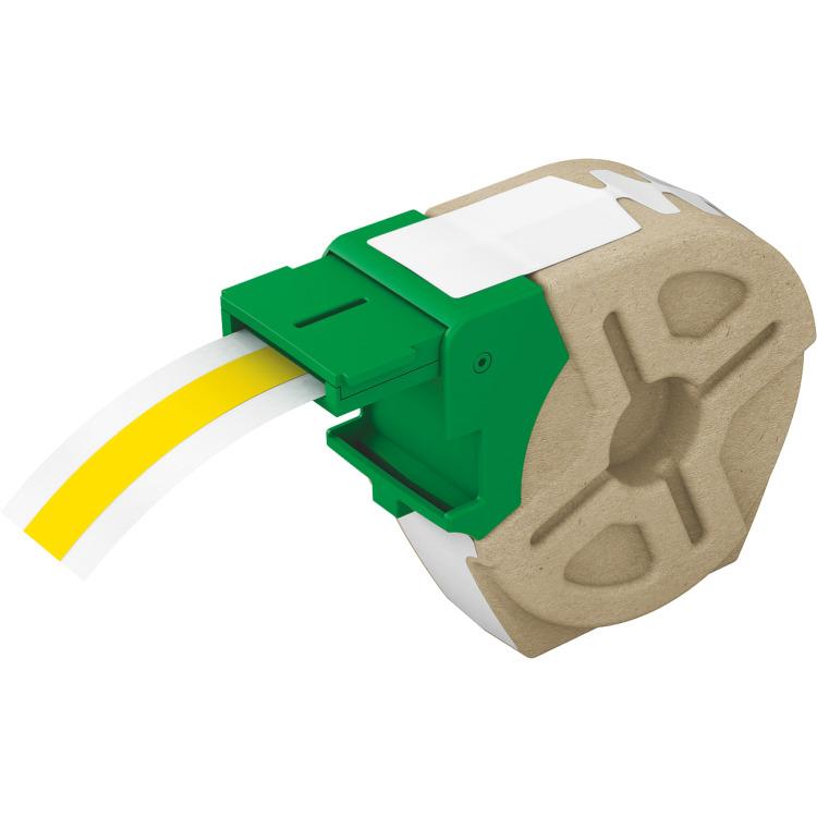 Leitz Icon cartridge - Geel plastic tape / Breedte tot 12mm