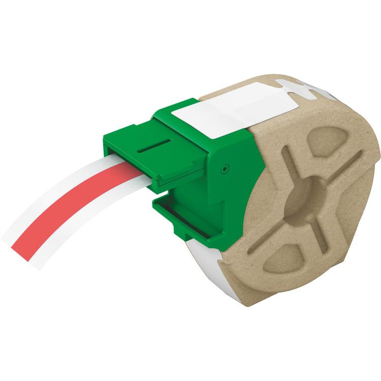 Leitz Icon cartridge - Rood plastic tape / Breedte tot 12mm