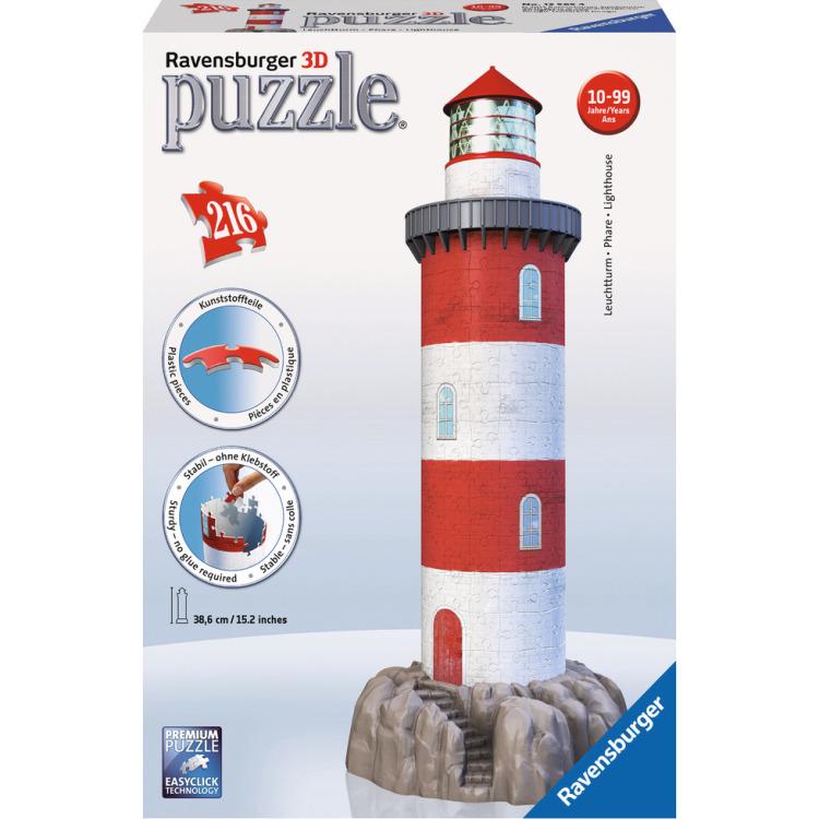 Image of 3D Puzzel - Vuurtoren - 216 stukjes