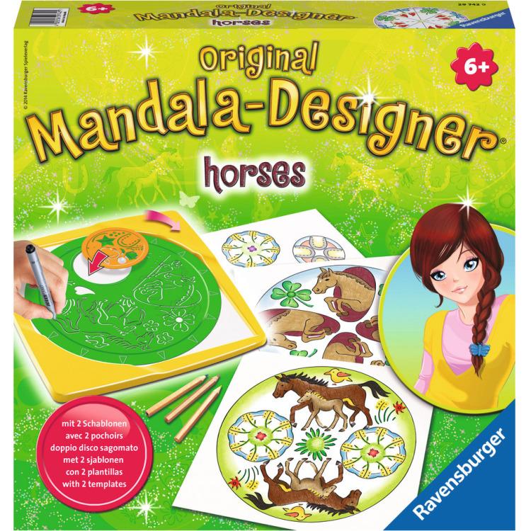 Image of 2in1 Mandala-Designer Horses