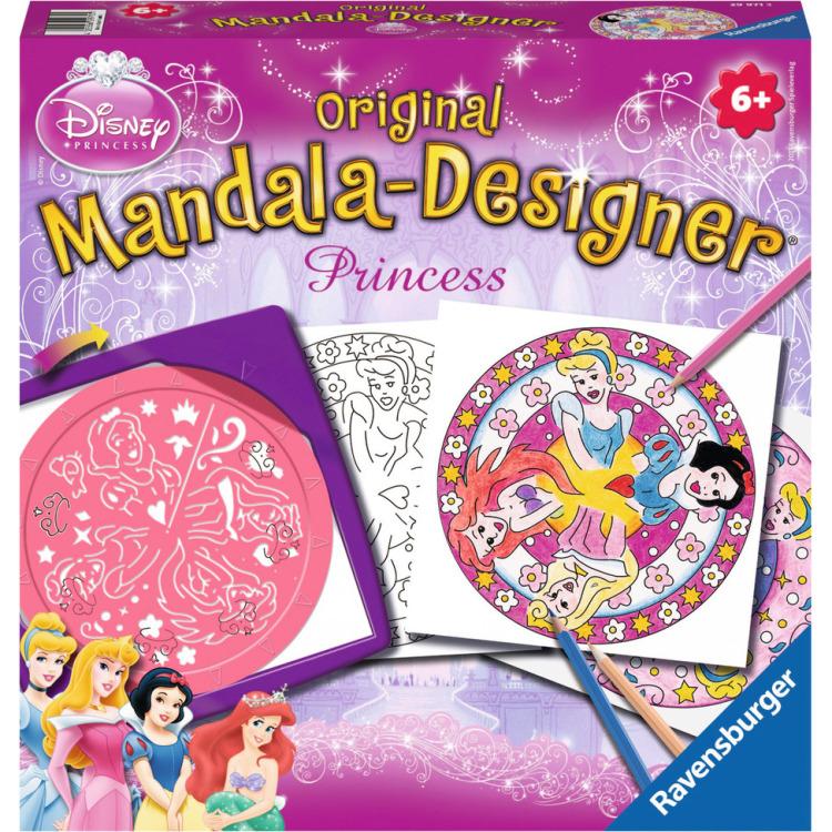 Image of 2in1 Mandala-Designer Disney Princess
