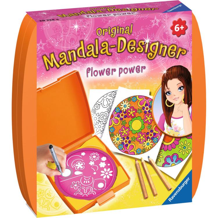 Image of Mini Mandala-Designer Flower Power
