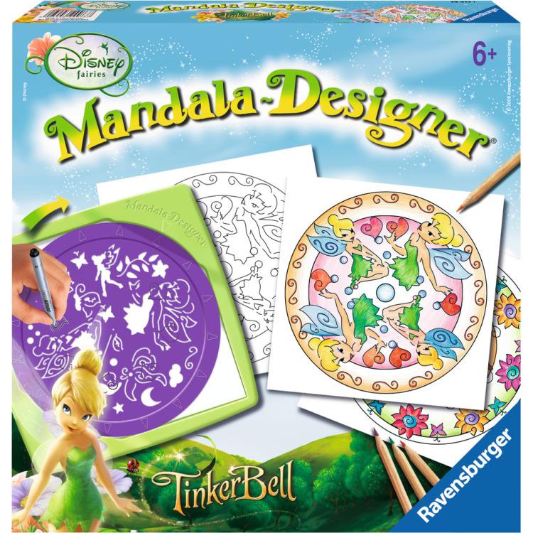 Image of 2in1 Mandala-Designer Disney Fairies