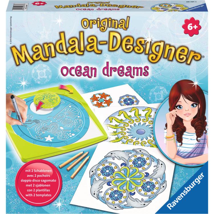 Image of 2in1 Mandala-Designer Ocean Dreams