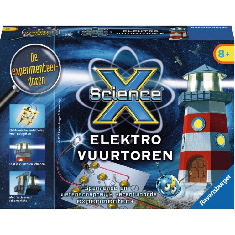 Image of Ravensburger ScienceX Elektro Vuurtoren