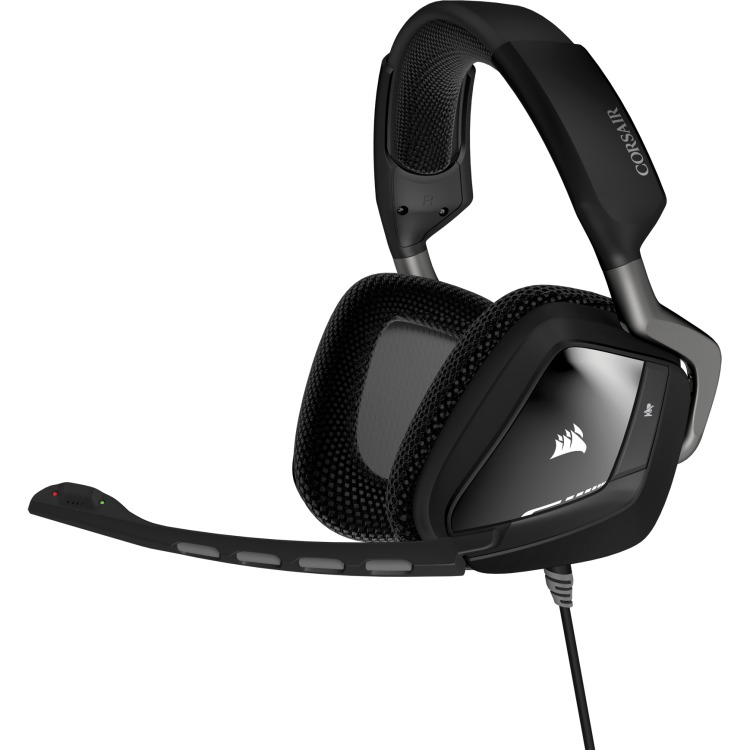 Image of Corsair Gaming VOID USB Carbon Dolby 7.1 Gaming Headset